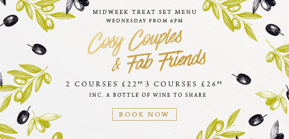 Midweek treat set menu at The White Horse